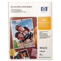 gnisio xarti hewlett packard a4 everyday photo glossy paper 25 fylla me oem q5451a photo