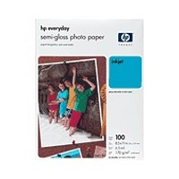 gnhsio xarti hewlett packard a4 everyday photo semi glossy paper 100 fylla me oem q2510a hg photo