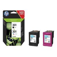 gnisio melani hewlett packard no 301 combo 2 pack me oem n9j72ae photo