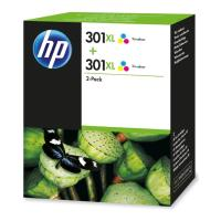 gnisio melani hewlett packard no301xl gia deskjet 1000 1010 twinpack 2xcolor oem d8j46ae photo