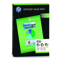 gnisio melani hewlett packard no935xl gia officejet 6230 6800 6830 c m y 25 sheets oem f6u78ae photo