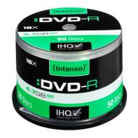 intenso dvd r 16x 47gb 120min cakebox 50pcs photo