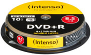 intenso dvd r dual layer 85gb 8x printable cb 4381142 10pcs photo