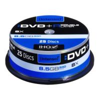 intenso 4311144 dvd r dual layer 85gb 8x cakebox 25pcs photo