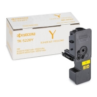 toner kyocera yellow me oem tk 5220y photo