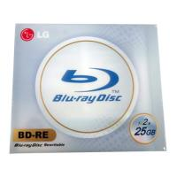 lg blu ray bd re 1 2x 25gb jewel case 1pcs photo