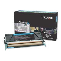 gnisio lexmark toner c748h1cggia c748 high capacity cyan oem c748h1cg photo