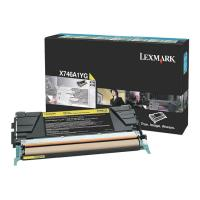 gnisio lexmark tonerx746a1yggia x746 48 yellow oem x746a1yg photo
