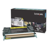 gnisio lexmark print gia gia c746 48 prebate yellow oem c746a1yg photo