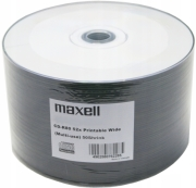 maxell cd r 700mb 52x full face printable cakebox 50 pcs photo