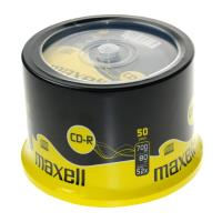 maxell cd r 700mb 80min 52x cakebox 50pcs photo