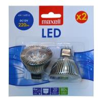 maxell led 4w mr16 cool white 2tem photo