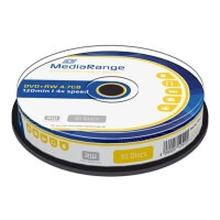 mediarangedvd rw 47gb 4x mr451 cake box 10pcs photo