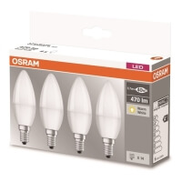 lamptiras osram led e14 57w 470lm 2700k 4tem photo