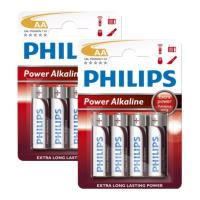 mpataria philips power alkaline lr6p4b 10 aa 8tem photo