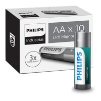 mpataria philips industrial lr6 aa 10pack photo