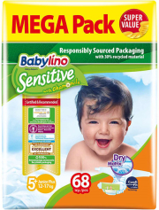 panes babylino sensitive megapack junior plus no5 68tem photo