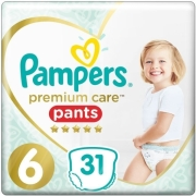panes pampers premium care pants no6 15kg 31 tem photo