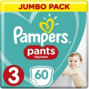 panes pampers pants no3 6 11kg 60tem photo