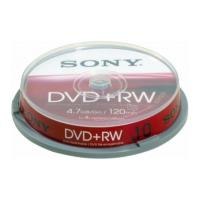 sony dvd rw 47gb 120min 4x cakebox 10pcs photo