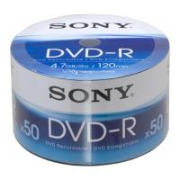 sony dvd r 47gb 120min 16x shrink pack 50pcs photo