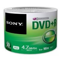 sony 50dpr47sb dvd r 47gb 120min 16x shrink pack 50pcs photo