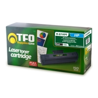 toner tfo h 87apf symbato me hewlett packard black cf287a 95k photo
