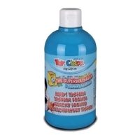 tempera superwashable mpoykali cyan blue 500ml photo