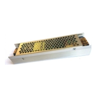 v tac led 3243 power supply 120w 12v ip20 10a metal photo