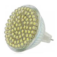 lamptiras whitenergy gu53 mr16 80 led 4w white warm 3000k 12v photo