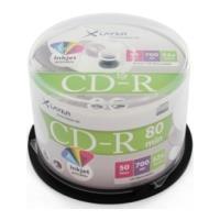 xlayer cd r 80min 52x 700mb inkjet white printable full surface cake box 50pcs photo