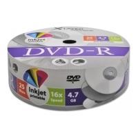 xlayer dvd r 47gb 16x inkjet white full surface shrink pack 25pcs photo