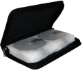 mediarangemedia storage wallet for 48 discs black extra photo 1