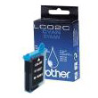 gnisio ink brother lc02c cyan photo
