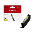 gnisio canon cli 581y yellow me oem 2105c001 photo