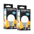 lamptiras duracell led e27 9w 2700k 2tem photo