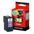 gnisio melani lexmark egxromo colour no 33 me oem 18cx033e photo