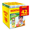 panes babylino sensitive monthly pack no5 13 27kg 168tem photo