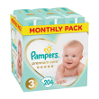 panes pampers premium care no3 6 10kg 204 tmx monthly pack photo