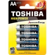 mpataries toshiba high power aa 4pcs photo