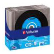 verbatim cd r vinyl 52x 80 min 700mb slim case 10pcs photo