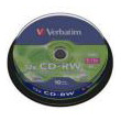 verbatim cd rw 12x 700mb cakebox 10pcs photo