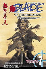 blade of the immortal katoikos tis aioniotitas tomos 7 photo