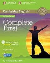complete first students book cd rom photo