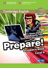 prepare level 6 students book photo