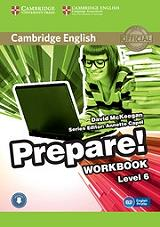 prepare level 6 workbook online audio photo