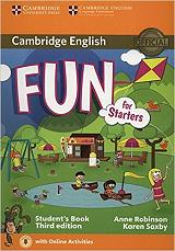 fun for starters students book on line audio 3rd edition photo