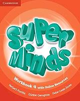 super minds 4 workbook on line resources photo