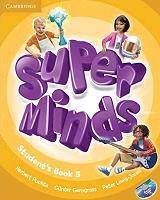 super minds 5 students book dvd rom photo