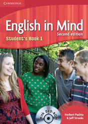 english in mind 1 students book dvd rom 2nd ed photo